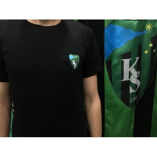 KOCAELİSPOR Armalı Siyah T-Shirt
