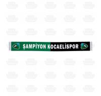 Şampiyon Kocaelispor Saten Atkı
