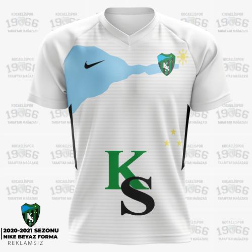 Kocaelispor 2020 Beyaz Forma |Reklamsız