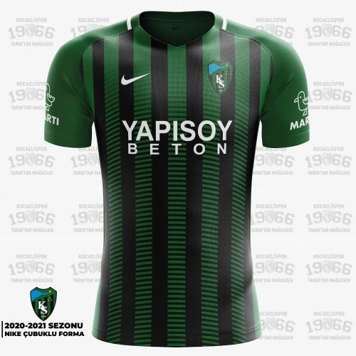 Kocaelispor 2020 Çubuklu Forma