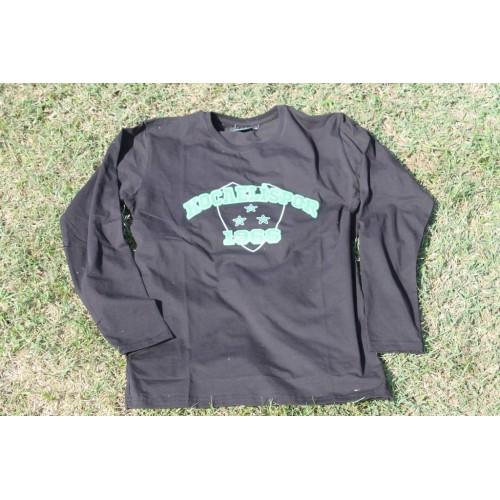 Kocaelispor Logolu Uzun Kol Siyah Sweat