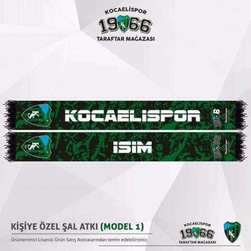 Kocaelispor Kişiye Özel Atkı(Model1)